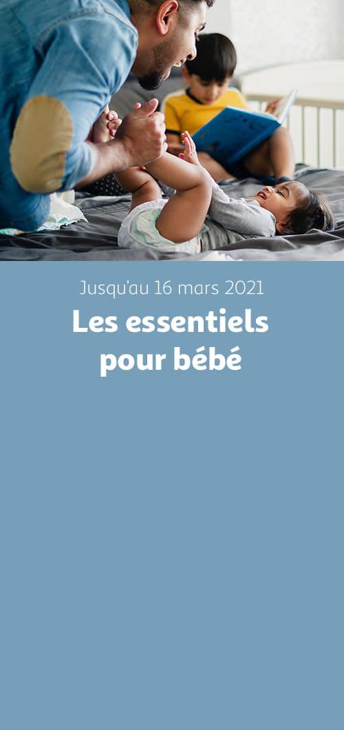 Les essentiels pour bébé